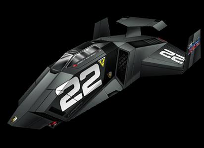 Astro Racer - Lambo II Papercraft